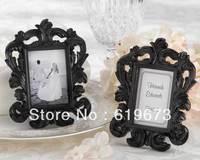 """Black Baroque"" Elegant Place Card Holder/Photo Frame For Wedding (Set of 20 PCS) and Whole Free Shipping"