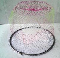 2014 new 50cm diameter circle /  8mm screws  /fishing net/stainless steel mesh head