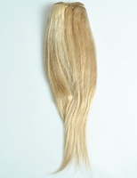 5pcs/lot 22 inch 18/613# clip in hair extensions 100% human hair extension clip on Fast Free ship wholesale