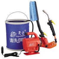 Car multi purpose electric washing machine portable washing device household spray gun car free shipping