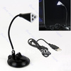 Flexible USB 3 LED Bright Light Lamp  With Base For Laptop Notebook PC