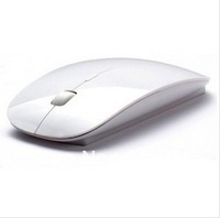 Promotion Ultra Thin 2.4G USB 2.0 Wireless1200 DPI Mouse Slim Mice 2.4G Receiver for Laptop PC Desktop DPI 3 modes adjustable