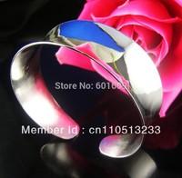 Free Shipping! Wholesale 5pcs 925 sterling silver polish cuff bangle bracelet TZ003*5