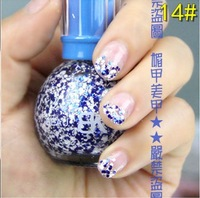 Spring New product Nail Beauty Snowflake nail polish Varnish 6pcs/lot Free shipping