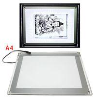 USB LED Tattoo Art Light Box Stencil   paper Transfer Tracing Table tattoo light box stencil