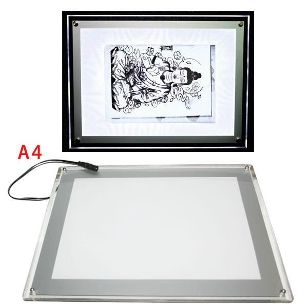 USB LED Tattoo Art Light Box Stencil paper Transfer Tracing Table tattoo light box stencil(China (Mainland))