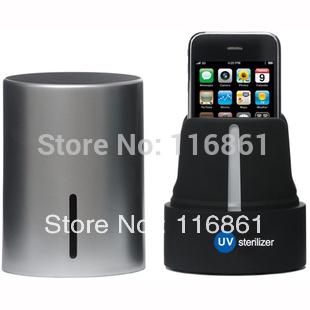 Silver Mobile Cell Phone UV Sterilizer(China (Mainland))