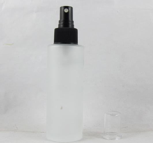 50ML frosted glass bottle with black spray bottle, lotion bottle(China (Mainland))
