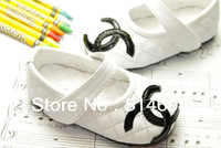 #6561 Exported quality genuine leather female child elegant princess shoes