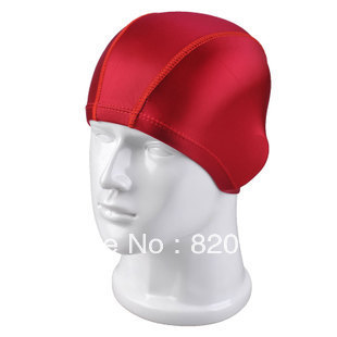 Plain cloth swimming cap high-elastic fabric fashion solid color cloth swimming cap multicolor