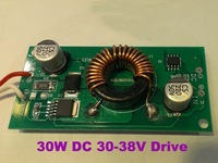 30W Constant Current LED Driver DC12V to DC30-38V 1000mA for 30W High Power LED
