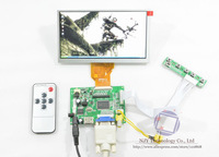 "2013 New HDMI+VGA+2AV+Remote LCD controller Board+6.5"" INNOLUX AT065TN14 50 Pin 800x480"