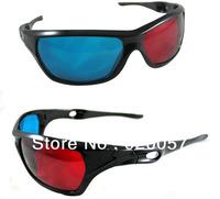 Red/Blue Plastic 3D Glasses Anaglyphic 3d glasses