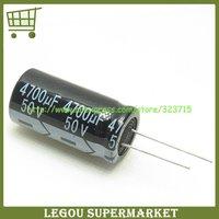 10pcs/Lot  4700UF 50V  19*40  50V 4700UF  DIP  Electrolytic Capacitor  Free  Shipping
