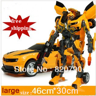 Free shipping ,Robot Revenge of the Fallen Human Alliance bumblebee  and Sam Action Figures Toys