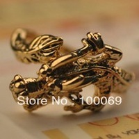 50% OFF Min.order is $15 (mix order) Fashion Personality Vintage Exaggeration Dragon Ring Free Shipping R1498