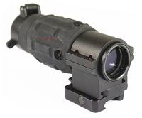 Tactical 3x Magnifier Scope for Reflex & Holographic Sights Accessories with Optics Mounts