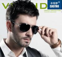 2014TAC Strengthen Polarized Men's Sunglasses Driver Mirror Driving Male Fishing Sports Man Aviator Alloy Eyewears Anti-UVA UVB