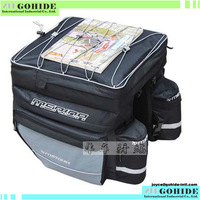 A Piece Big bag three-in-one bicycle pack package bag bike rear bag bicycle motorcycle case bag free shipping