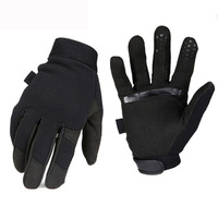 Low profile military style riding hiking gloves tactical gloves US navy seal swat combat army gloves rescue rappelling gloves