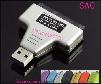 USB 3.0 to SATA Convertor Adapter for 2.5 Inch HDD+USB3.0 Cable+HDD Protection with  retail package