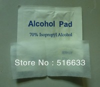 SG POST High quality Alcohol Prep Pad Alcohol Pad alcohol swab 70% Isopropyl antiseptic swab(100pcs/box,200pcs/lot) Freeshipping