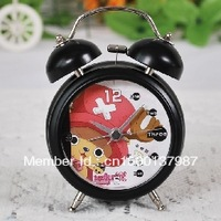 Stunning animation double bell alarm clock - Death Series - Naruto Series - One Piece series