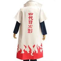 cosplay anime costume Yondaime4 cloak  Hokage sama  Uzumaki Naruto's father Namikaze Minato  Clothes