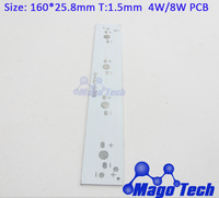 DHL/FEDEX /EMS Free shipping- size:160*25.8 T:1.4 led circuit board   aluminum plate 4W/8W BASE  LED high power  board