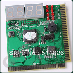 Free shipping PC DIAGNOSTIC 4-Digit CARD Motherboard POST Tester #9733(China (Mainland))
