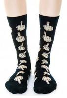 fashion boy hiphop socks focks Black Socks cute  finger Tide brand spoof  man cotton sock 10 pairs free shipping