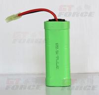 Brand new 7.2V 1100mah Ni-mh rechargerable rc battery for S900, small tamiya plug,free shipping