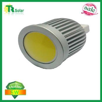 led spot light 5W LED cup lamp, 5W-MR16 COB spot light, 120 degree angle, 12V AC/DC Free shipping (10 pieces/a lot)