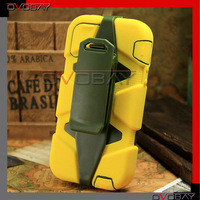 Military Protection Survivor cases for iPhone 5 5g Belt Clips, free shipping by china post