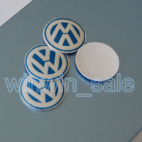 Freeshipping 10pcs/lot 14mm Remote Key Fob Logo Badge Emblem For Volkswagen VW Jetta Golf Passat