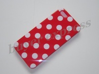 100PCS Polka Dot Phone Cover For IPHONE5 Case Mutil Color Soft TPU Case  Free shipping