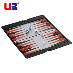 Free shipping UB magnetic fold wallet series backgammon chess(China (Mainland))