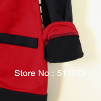 Best selling!!popular Color matching back striped boys cardigan high quality kids sweater coat child knitwear free shipping