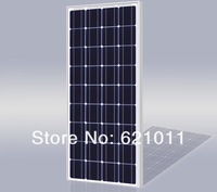 100W solar modules, 12v pv panel, mono crystalline solar cells , for solar street light, home solar power system