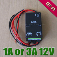 1A or 3A 12V solar charge controller CLP03 Solar lamp panel battery Charge Controller regulators with timer and light sensor