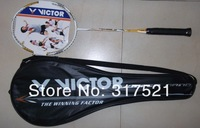 badminton racket victor  Brave Sword LYD 100% carbon fibre free shipping 2 pieces/lot