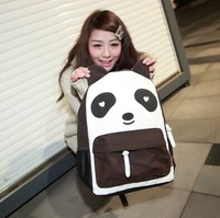 Freeshipping!!!Panda Canvas backpack for girls Casual Women's Colorful Lady Student School Travel bags