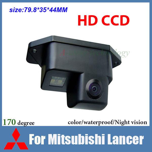 Free shipping HD CCD Car rear view camera car backup camera for Mitsubishi Lancer waterproof night vision car parking camera(China (Mainland))