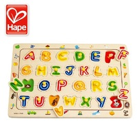 Hape toy letter puzzle 3 yakuchinone small fun 3d puzzle