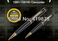 Free Shipping HD camera pen Ball-point pen Type 720P Can be used as USB flash drives mini dv dvr