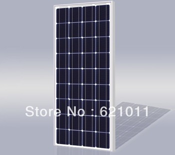 80W pv modules, mono crystalline solar cell panel, solar modules for 12v solar street light and portable solar system