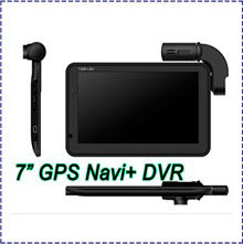Free Shipping 2013 New G7 GPS Navigator Car DVR with Separte Waterproof Lens + HD 720P + Remote Control,video camera(China (Mainland))