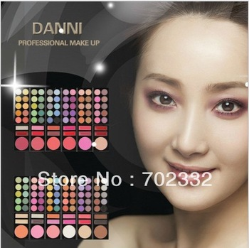 60 Color Eyeshadow Eye Shadow Makeup Make Up Palette Kit Free Shipping Fexport HL007