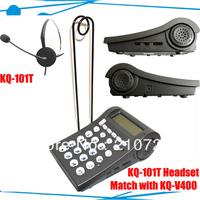 Wholesale Call center telephone headset ; Caller ID Telephone Headphone System ; Call center telephone