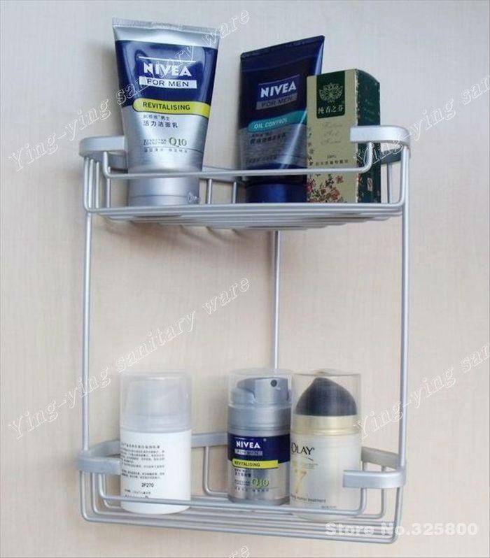 Estantes De Aluminio Para Baño:de aluminio espacio de muebles de baño- toalla estante estante de